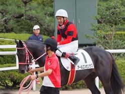 的場文男が京都競馬デビュー!「本当に緊張した1鞍でした」