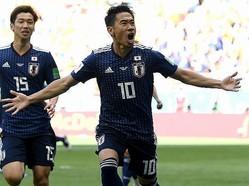 昨夏のロシア・ワールドカップではコロンビア戦で値千金のPKを決めた香川。それ以来の代表復帰にファンの期待は高まるばかりだ。 (C) Getty Images