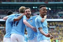 FAカップを制したマンチェスター・シティがイングランド史上初の国内3冠を達成!【写真:Getty Images】