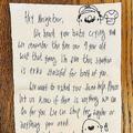苦情と思ったら…「赤ちゃんの泣き声が聞こえる」隣人からの手紙に感動