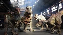リアルな恐竜が来襲する体験型ライブ「DINO SAFARI」 ドラえもんとのコラボが実現!