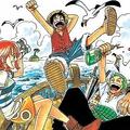 実写ドラマ化される漫画『ONE PIECE』のコミックス第1巻(英語版) (C)尾田栄一郎/集英社