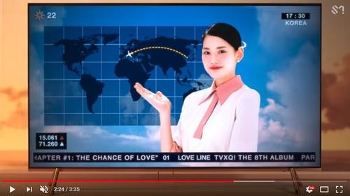 [画像] 東方神起の新ミュージックビデオ、日本を世界地図から排除 所属事務所が謝罪「編集過程で問題あった」