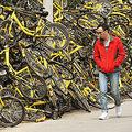 盗難や不法投棄が相次ぎ…中国で社会問題となっているシェア自転車