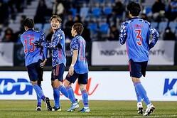 日本代表、香港に5発大勝! 東京五輪エース候補の小川航基が史上3人目の代表デビュー戦ハット