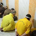 イラクで死刑判決を受け、刑の執行を待つイスラム過激派組織「イスラム国(IS)」の構成員ら。イラク法務省提供(2018年6月29日撮影、資料写真)。(c)AFP PHOTO / HO / Iraq Justice Ministry