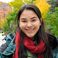 気候変動対策を訴えるエマ・リムさん=2019年10月20日、モントリオール、藤原学思撮影