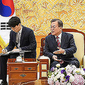 「米に宣戦布告」韓国で文氏批判