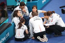 カーリング日本女子代表のおやつタイム(写真:YUTAKA/アフロスポーツ)