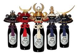 日本酒にかぶせたいぞ!名だたる戦国武将がモチーフの兜型ボトルキャップ「サムライボトル兜」がカッコいい!