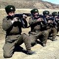 朝鮮人民軍の兵士たち(朝鮮中央通信)