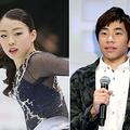 紀平梨花(左)と織田信成(C)日刊ゲンダイ