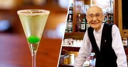 日本最高齢、93歳の現役バーテンダーが語る!伝説のカクテル『雪国』誕生ものがたり