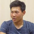 インタビューに応じたロッテ・藤原恭大【写真:佐藤直子】