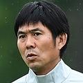 日本代表を率いる森保一監督【写真:Getty Images】