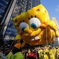 スポンジ・ボブはNYの感謝祭パレードに登場するほどの国民的人気を誇る(写真:ロイター/アフロ)