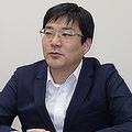 リユースモバイル・ジャパンの代表理事企業を務める、携帯市場の粟津浜一代表取締役CEO