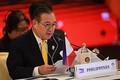 フィリピンのロクシン外相=2019年7月、バンコク(AFP時事)