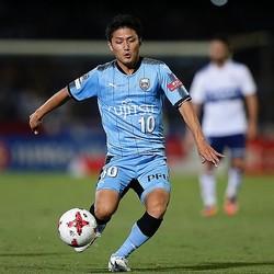 ここ数試合、ハイパフォーマンスを続ける大島。横浜戦でも勝利の立役者になった。写真:茂木あきら(サッカーダイジェスト写真部)