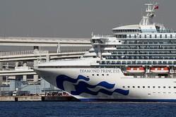米、横浜の客船から自国民退避 16日にチャーター機派遣