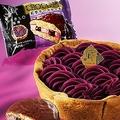 ロッテ×パブロ、新作チョコパイ「紅芋チーズケーキ」たっぷり紅芋チーズクリームに黒糖をプラス