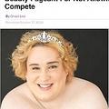 美人コンテストに応募し却下されたトランスジェンダー女性(画像は『Sick Chirpse 2020年10月27日付「Trans Activist Jessica Yaniv Is Suing A Women's Beauty Pageant For Not Allowing Her To Compete」』のスクリーンショット)
