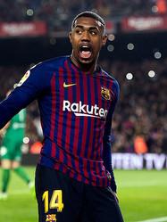 バルセロナ、右足首負傷のマウコムが約2週間離脱…