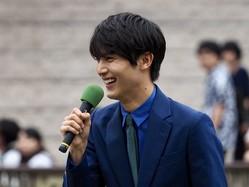 【安田記念】中川大志さんがプレゼンターとして登壇 単勝馬券当たる