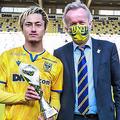 今季17発の鈴木優磨、ファンが選ぶクラブ年間MVPに輝く