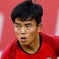レバンテ戦で11試合連続の先発出場を果たした久保。(C) Getty Images