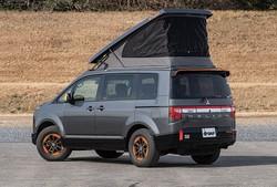 最強のデリカD:5出現!? 屋根にテントで行動範囲が広がる。その名も「D:POP」! 西尾張三菱自動車販売 