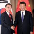 文在寅大統領の外交が米韓関係に影響?(写真/EPA=時事)