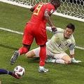 """ベルギーを相手に""""前半スコアレス""""を実現した日本代表【写真:Getty Images】"""