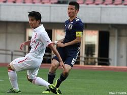 1次予選からチームの中心選手の一人だったMF横川旦陽(湘南U-18)