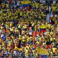 コロンビア代表サポーターの行動が問題になっているという