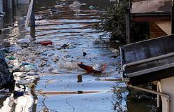台風19号温帯低気圧に、東日本で氾濫相次ぐ 千曲川など決壊