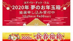 ビックカメラ.comとヨドバシ・ドット・コムの福袋が被るのは12月5日の9時30分まで