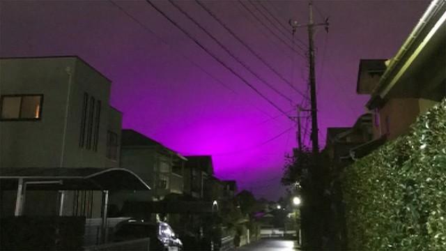 「紫色」の空が出現 意外な理由