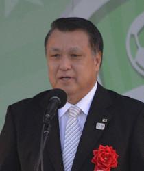 サッカー日本代表の田嶋幸三会長
