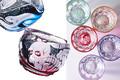 人気絵師の名画をモチーフにした和樂オリジナル「浮世絵切子グラス」発売