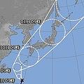 台風24号の「直角進路」がヤバい 10月1日月曜日に関東直撃も