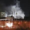 愛知県の東洋紡犬山工場で火災が発生し2人死亡 作業中取り残されたか
