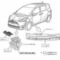 「シエンタ」リコールの改善箇所説明図(画像: トヨタ自動車の発表資料より)
