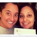 バーで働く同僚は血の繋がった姉妹だった(画像は『Good Morning America 2021年2月25日付「2 friends who worked together learn they're biological sisters」(Julia Tinetti)』のスクリーンショット)