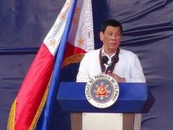 フィリピンのドゥテルテ大統領=資料写真