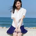 『週刊プレイボーイ』のグラビアに初登場したNMB48・横野すみれ