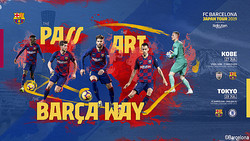 バルセロナが来日メンバーを発表