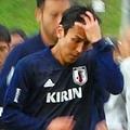日本代表はオーストリアの合宿地に到着してすぐにトレーニングを行った【写真:元川悦子】