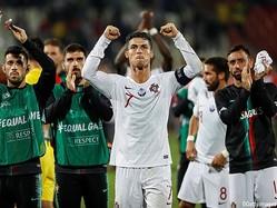 クリスティアーノ・ロナウドなどのゴールでポルトガルが今予選初勝利
