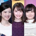 左から葵わかな、永野芽郁、広瀬すず、橋本環奈、平祐奈
